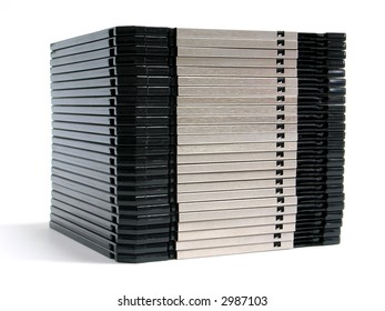 Stack of floppy-disks