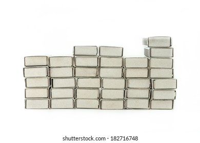 Stack of matchbox background