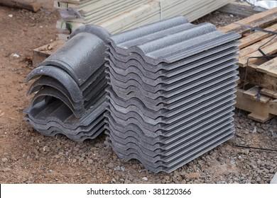 Concrete Roof Tiles Images Stock Photos Vectors Shutterstock