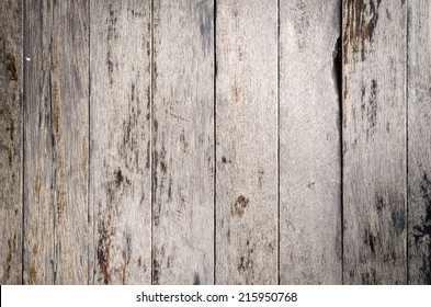 Stack of Old Brown wood wall texture background .