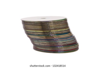 A stack of optical disks