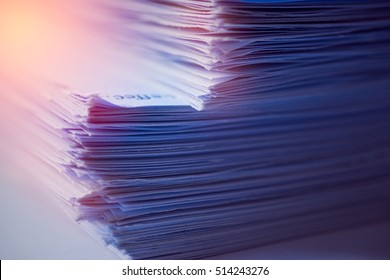 Stack of paper