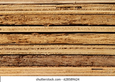 Stack of plywood texture background