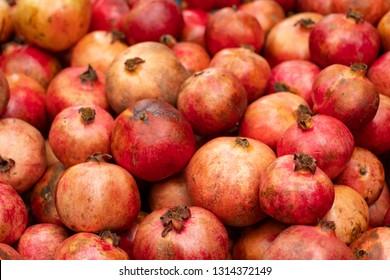 Stack of Pomegranates