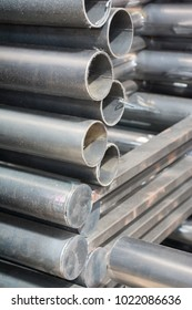 Stack of round steel