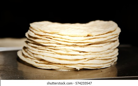 Stack of tortillas