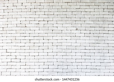 Stack of white brick wall