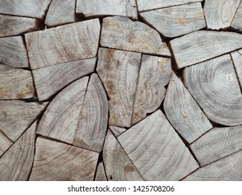 Stack of Wood Construct background