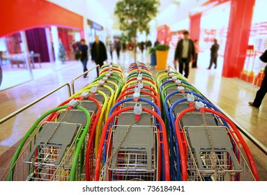 stackable shopping carts