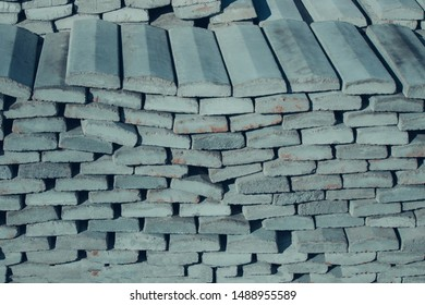 Stacked Construction Stones texture background