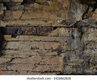 Stacked Layers of Nasaltic Rock