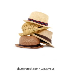 a7819ef002fed Stacked of panama straw hat