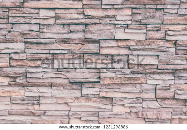 Stacked Slabs Walls Stone Texture Seamless Stock Photo Edit