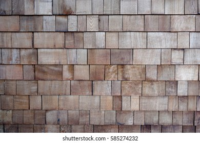 Stacked wood wallpaper.