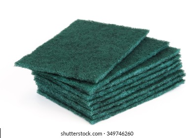 stacking scouring pad for kitchen cleaning