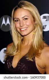 Stacy Keibler at MOTO 7 Motorola TOYS FOR TOTS 7th Anniversary Benefit, The American Legion, Hollywood, CA, November 03, 2005