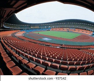Stadium with Chairs