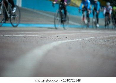 Stadium for cycling. Velodrome.