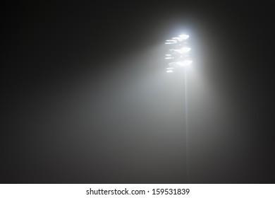 Stadium Lights in fog no.2