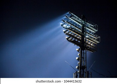 Stadium lights at an sport arena stadium