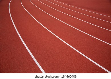 Stadium runway/Athletics track