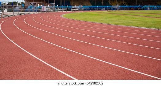 stadium track