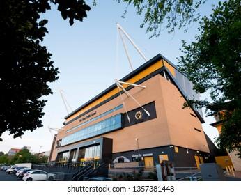 Stadium of Wolverhampton wanderers Football club, Wolverhampton, England, UK. Image taken on 13th May 2017