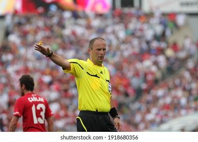 Stadler American Financial Field in Philadelphia on May 29, 2010, the football match played between Turkey won 2-1. Silviu Petrescu Referee