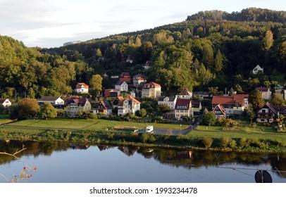 Stadt Wehlen at the Elbe - Shutterstock ID 1993234478