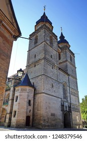 Stadtkirche in Bayreuth is a city in Bavaria, Germany, with many historical attractions