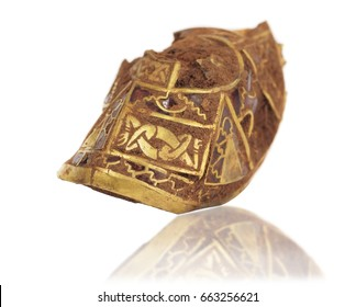 Staffordshire Hoard, largest hoard of Anglo-Saxon gold ever found hilt