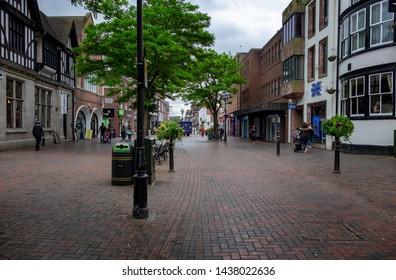 Stafford,Staffordshire/England - 17 June 2019 :Greengate Street Stafford