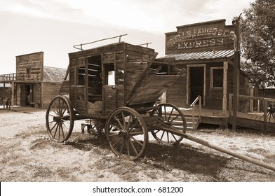 Stage Coach, 1800's
