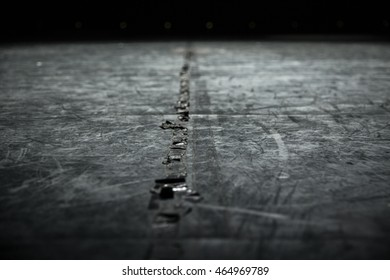 Stage Floor Background (Black and White)