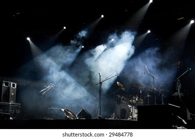 Stage In Lights 1