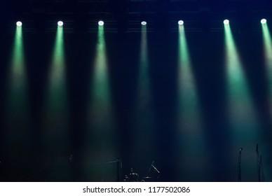 Stage lights at concert