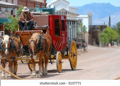 Stagecoach waiting