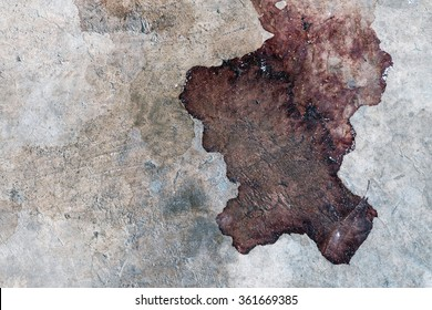 Stain on old cement texture as abstract background