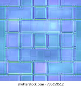 Stained glass background. Seamless pattern.