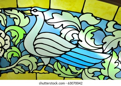 Stained Glass [bird pattern]