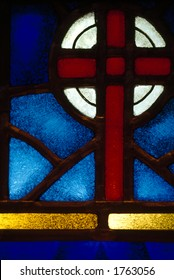 Stained Glass: Cross