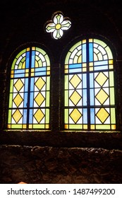 Stained glass in the old Church