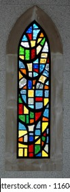 Stained Glass Window with multi colors
