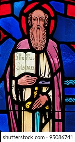 Stained glass window of Saint Paul