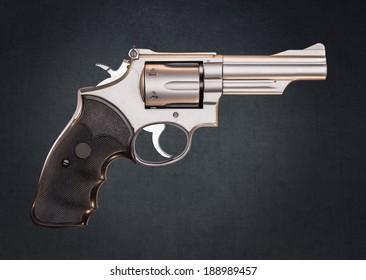 Stainless 357 Magnum Revolver