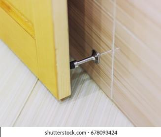 door stopper. Stainless Door Stop. The Stopper . C