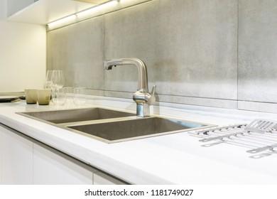 Kitchen Sink Images, Stock Photos & Vectors   Shutterstock