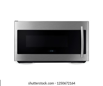 stainless microwave oven