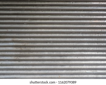 stainless rolling shutter door background using