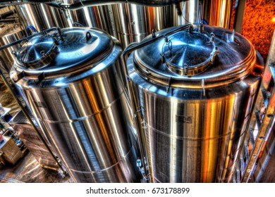 Stainless steel autoclaves for the preparation of beer